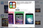Tres aplicaciones para cambiar su Iphone Backround