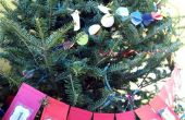TUTORIAL: Calendario de Adviento árbol de Navidad guirnalda