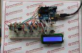 Sistema de medición de velocidad de gota líquida basada en Arduino