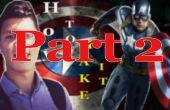 #2 Cómo hacer Capitán América chimenea DIY 2_3 - cartulina (parte 2)