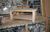 Mesa de centro rústica de A construir