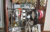 Organizador de pulseras que tiene decenas de pulseras y mantiene VISIBLE todos a elegir!