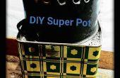 Olla Super DIY para estufas cohete