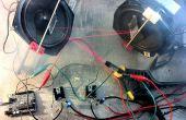 Espectáculo de láser de Arduino con Control completo de XY