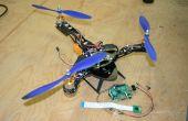 Entrada salida simple frambuesa Pi. Tricopter