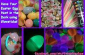Resplandor en la caza del huevo de Pascua oscuro!