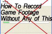 Cómo grabar imágenes de juego para juegos de PC sin necesidad de descargar un programa! ¿