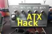 ATX Banco potencia fuente Hack