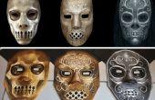 Cómo contruct y pintar una máscara de Mortífago de muerte