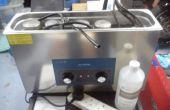 Cómo limpiar un carburador de moto utilizando un limpiador ultrasónico