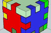 PUZZLE cubo 3D con SketchUp 2013