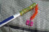 Cómo hacer un agarre de lápiz goma con ningún telar... (Nuevo estilo)