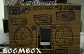 BRICOLAJE cartulina iPod Boombox