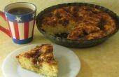 Panela y agria crema pastel café