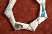 Frisbee de periódico