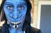 Transformación de maquillaje! Chica de dragón!