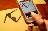 Empuñadura para una mano iPhone fotos a mano