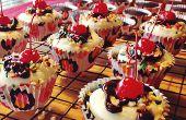 Receta de Cupcakes de helado de chocolate