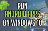 Ejecutar aplicaciones Android en Windows 10