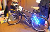 La bicicleta Lite Glow utilizando CCFL