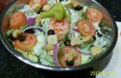 Olive Garden ensalada y aderezo receta hackeado