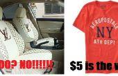 Fácil y rápido coche fundas de camisetas y otras prendas de vestir