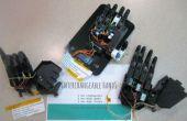 Tres bajo costo intercambiables 3D imprimibles Bionic las manos