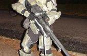 Cartón y fibra de vidrio Halo 3 inspira traje de Jefe Maestro