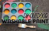 BRICOLAJE pintura lavable de acera al aire libre