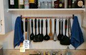 Estante de utensilios de cocina