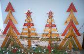 Árboles de Navidad de madera