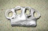 Cómo hacer bronce knuckless (de plástico y cinta aislante!!!!!!)
