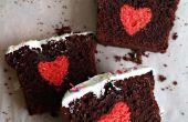 Oculto corazón torta / pastel de sorpresa