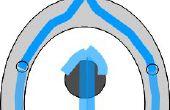 La cascada de aseo Caroma