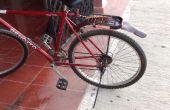 Guardabarros de bicicleta de persiana de pvc