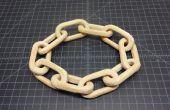 Tres formas de hacer una cadena de madera