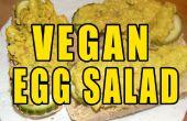 Ensalada de huevo 10 minutos vegano