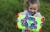 DIY bolso de placas recicladas | Arte de DIY para las niñas