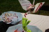 Juego de pesca de origami