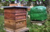 Envolver la colmena hasta el capullo con monitoreo ambiental