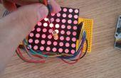 Arduino - matriz de punto pantalla escritura LED