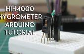 HIH4000 humedad, tutorial de sensor higrómetro