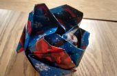 Reutilización de papel no deseados con Origami