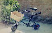 Bicicleta de rueda gorda y pequeña