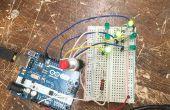 Dados de LED Arduino fácil