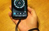 Cordón de teléfono inteligente de piezas de chatarra