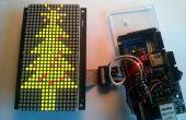Conectado el árbol de Navidad utilizando Arduino y Temboo