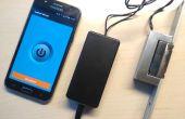 Arduino Bluetooth control abrepuertas eléctrico