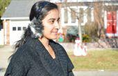 Piel sintética DIY orejeras oído