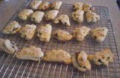 Dobla las galletas de avellana